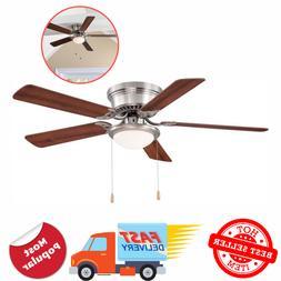 Hampton Bay Southwind Ceiling Fan 52 in LED Indoor Brushed N
