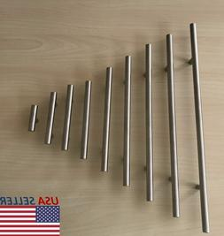 Stainless Steel Brushed Nickel Kitchen Cabinet Handle T Bar