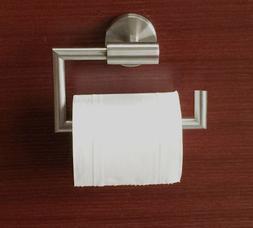 Stainless Steel Brushed Nickel Square Towel Ring Holder Rack