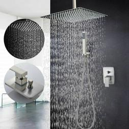 stainless steel shower faucet handheld shower ceiling