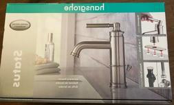 Hansgrohe Status Bathroom Lavatory Faucet Brushed Nickel
