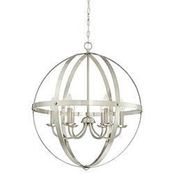 Westinghouse Stella Mira Six-Light Indoor Chandelier,