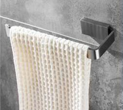 SUS 304 Towel Ring Wall Mounted Square Open-Arm Towel Holder