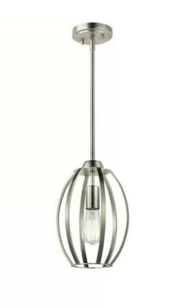 Kichler Tao 1 Light Pendant, Brushed Nickel - 44054NI