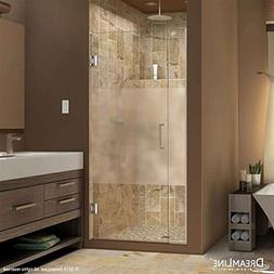 "DreamLine Unidoor Plus 34 to 34-1/2""W x 72"" H Hinged Shower"