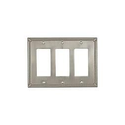 Wall Light Switch Plate Rocker Toggle Cover Traditional Brus