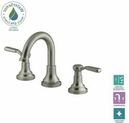 "Kohler Worth 8"" Widespread Bathroom Faucet Brushed Nickel -"
