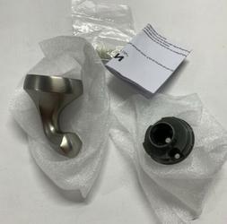 Moen YB2803BN Eva Single Robe Hook, Brushed Nickel